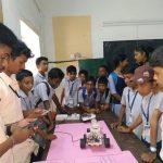 Robotics club @ Higher Secondary Level exhibition